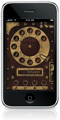Rotary Dialer Is A Retro Themed For The Iphone