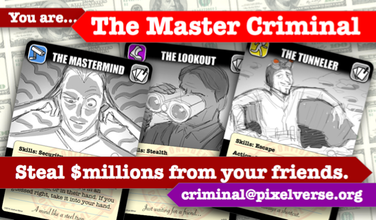 Master Criminal Promo Business Card